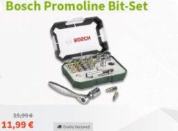 Völkner: 27-teiliges Bitset von Bosch für 11,99 Euro frei Haus