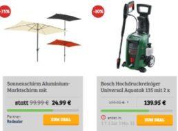"""Dealclub: Hochdruckreiniger """"Bosch Universal Aquatak 135"""" für 139,99 Euro"""