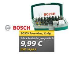 Meinpaket: Bosch Promoline Schrauberbit-Set für 9,99 Euro frei Haus