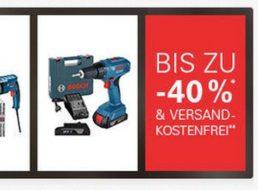 Bosch: Profi-Werkzeug mit Rabatt und Gratis-Versand bei Ebay