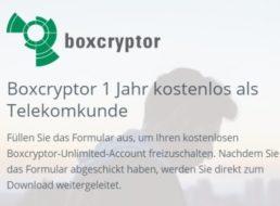 Gratis: Jahreslizenz von Boxcryptor im Wert von 36 Euro für Telekom-Kunden