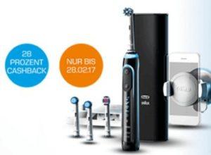 Saturn: Elektrische Zahnbürsten ab 6,47 Euro frei Haus dank Oral-B-Cashback