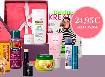 Schönheits-Schnäppchen: Brigitte-Box mit 5 Euro Rabatt für 24,95 Euro