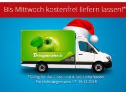 Bringmeister: Gratis-Lieferung und Gutschein über zehn Euro