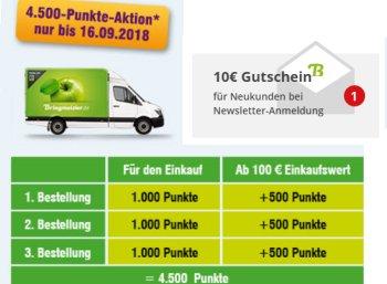 Bringmeister: 20 Euro Rabatt bei 40 Euro Warenwert für Neukunden