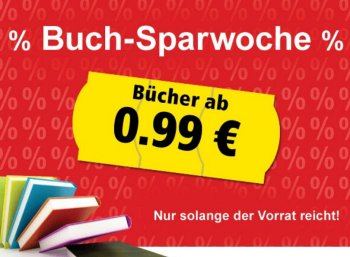 Weltbild: Buch-Sparwoche mit Gratis-Versand ab 10 Euro Warenwert