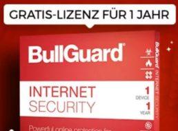 """Gratis: Jahreslizenz """"Bullguard Internet Security 2018"""" bei Heise zum Nulltarif"""
