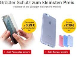 Allyouneed: Smartphone-Bumper für 2,19 Euro frei Haus, Panzerglas für 3,29 Euro