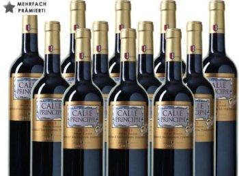 """Weinvorteil: 12 Flaschen """"Bodegas Vinedos Contralto - Calle Principal"""" für 45 Euro"""