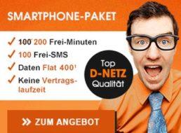 """Callmobile: """"Cleversmart 400"""" für 4,95 Euro wieder ohne Einrichtungsgebühr verfügbar"""