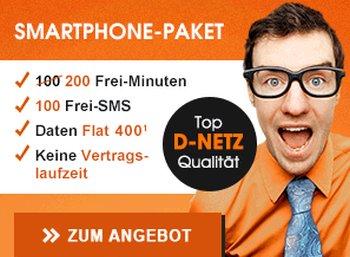 Callmobile: 200 Minuten, 100 SMS und 400 MByte im Vodafone-Netz für 4,95 Euro