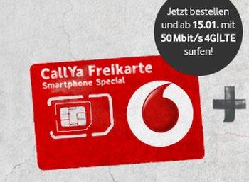 Vodafone: Prepaid-Tarif mit 50 MBit/s und interner Flat für 9,99 Euro im Monat