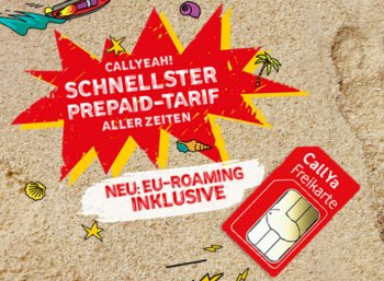 CallYa: EU-Roaming bei der kostenlosen Prepaid-Karte ab sofort inklusive