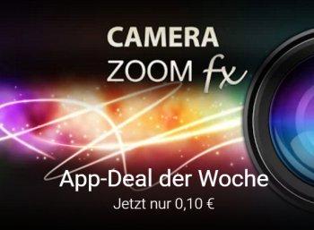 """Google Play: App """"Camera Zoom FX Premium"""" jetzt für 10 Cent im Angebot"""