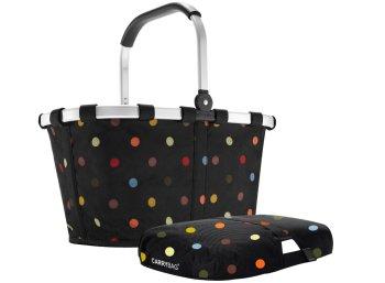 Exklusiv: Reisenthel Carrybag dots mit Cover zum Bestpreis von 41,35 Euro