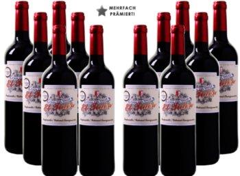 """Weinvorteil: 12 Flaschen fünffach prämierter """"Casa del Valle"""" für 39,96 Euro frei Haus"""