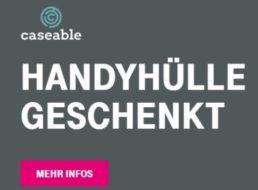 Gratis: Handyhülle von Caseable für Telekom-Kunden geschenkt