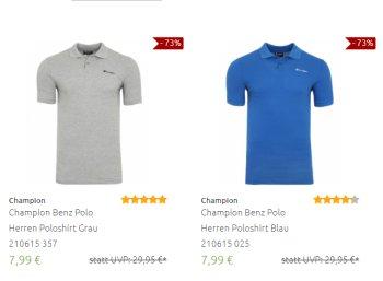 Outlet46: 16 Champion-Artikel zu Preisen ab 7,99 Euro