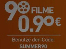 Chili.com: Top-Filme für 90 Cent für kurze Zeit