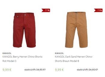 Outlet46: Chino-Shorts für 9,99 Euro frei Haus