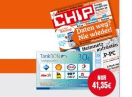Chip Premium: Halbjahresabo für 11,35 statt 41,35 Euro dank Tankgutschein