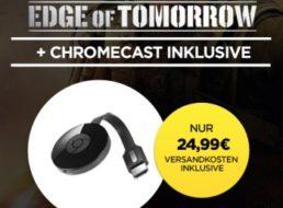 """Wuaki.tv: Google Chromecast mit """"Edge of tomorrow"""" für 24,99 Euro"""
