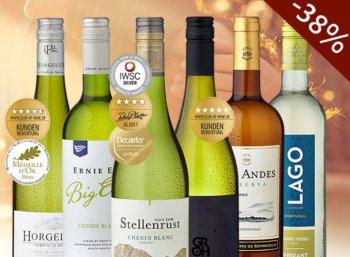 Club of Wine: 6 teils mehrfach prämierte Weine für 29,90 Euro frei Haus