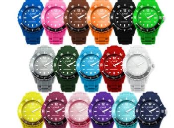 CM3 Silikon-Armbanduhr mit Ersatzbatterie für 2,49 Euro frei Haus