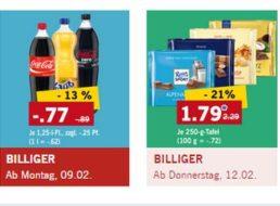 Lidl: Cola, Coke Zero und Fanta für 77 Cent plus Pfand