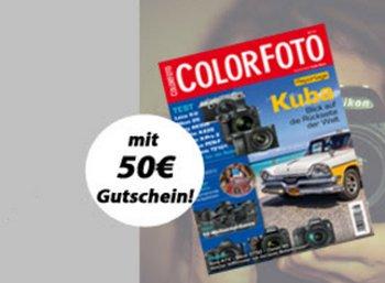 Color Foto: Halbjahresabo mit 8,60 Euro Gewinn dank Fotokoch-Gutschein