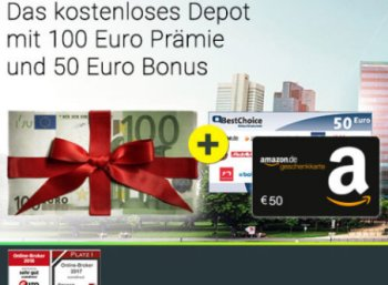 Comdirect: 150 Euro Bonus für schufafreies Gratis-Depot