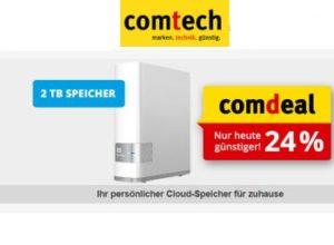 Comtech: Netzwerk-Festplatte mit zwei TByte für 111 Euro frei Haus