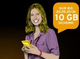Knaller: Congstar-Prepaid mit 10 GByte Datenvolumen gratis