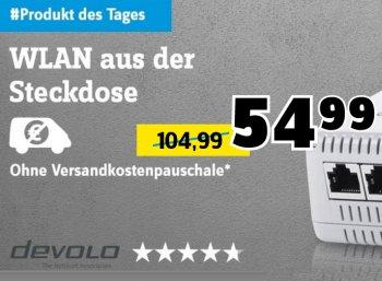 Conrad: Devolo dLAN 500 AV Wireless+ für 54,99 Euro