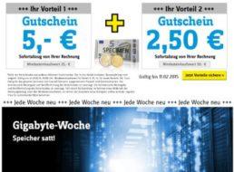 Conrad: Speicher Spezial mit bis zu 7,50 Euro Rabatt