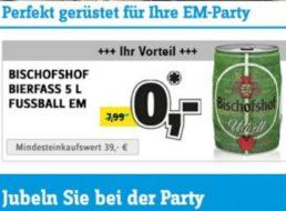 Conrad: Gratis-Bierfass ab 39 Euro Warenwert, auch vor Ort