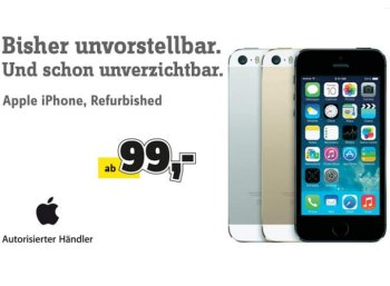 Conrad: Generalüberholte iPhones ab 99 Euro