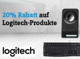Conrad: Logitech-Rabatt von 20 Prozent für zwei Tage