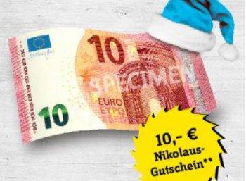 Conrad: 10 Euro Nikolaus-Rabatt bis Mittwoch-Abend