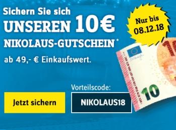 Conrad: 10 Euro Rabatt und Gratis-Versand bis Samstag