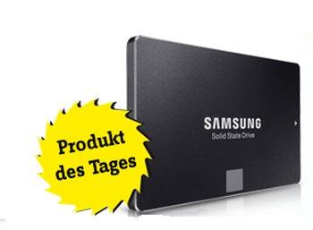 Conrad: Samsung Evo 850 SSD mit 250 GByte für 84,99 Euro frei Haus