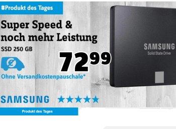 Conrad: SSD Samsung 750 EVO mit 250 GByte für 67,44 Euro frei Haus