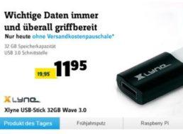 Conrad: USB-Stick Xlyne mit 32 GByte für 11,95 Euro frei Haus