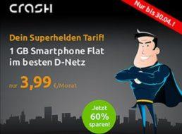 D-Netz: GByte-Datenflat mit 100 Freiminuten für 3,99 Euro