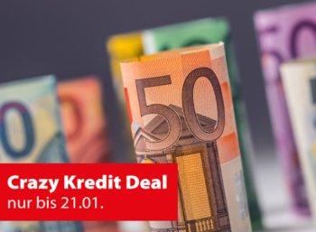 Check24: Eine Monatsrate geschenkt bei Umschuldung von Krediten
