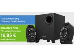 Allyouneed: 2.1 Lautsprechersystem Creative A250 als B-Ware für 16,95 Euro