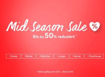 Midseason-Sale bei C&A