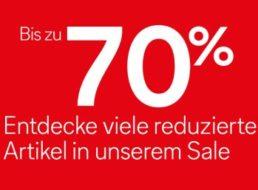 C&A: Jetzt bis zu 70 Prozent Rabatt im Sale, Bio-Baumwollshirts ab 3,50 Euro