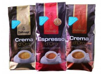 Dallmayr: Probierpaket mit drei Kilo Kaffeebohnen für 29,99 Euro frei Haus
