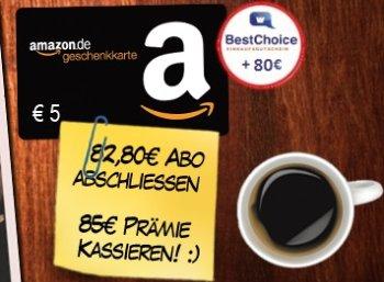 """Bonus-Angebot: """"Damals"""" im Jahresabo für 82,80 mit 85 Euro Gutscheinen"""